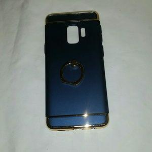 Case galaxy s9 color blue navy
